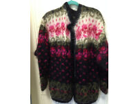 Vintage Mohair/Wool Sweater/Cardigan from Norway