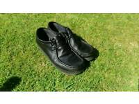 Burtons mens smart black shoes perfect for work or functions etc