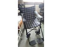 Lightweight Folding Wheelchair/Transport Chair