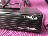 Humax Freeview and Hard Disc Recorder