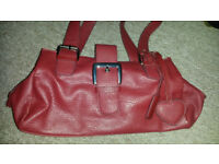 Red Collection Handbag. Never used.