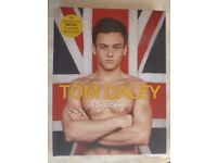 "Tom Daley Hardback Book in very good condition - ""My Story"""