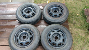 175/70/R13 All Season Tires - Barely used
