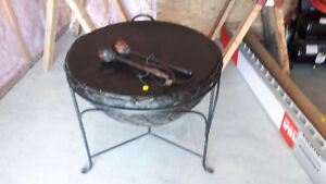 Drum Table with mallets