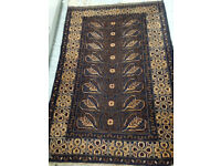 ANOTHER PRICE DROP Beautiful Vintage/Antique 100% Wool Rug/Ethnic