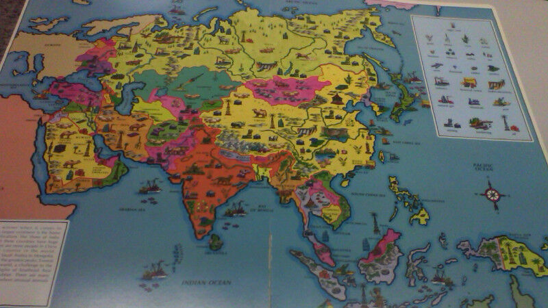 Its a big world atlas large cardborard book children young description colorful childrens atlas 16 inches x 23 inches tall its a big world gumiabroncs Image collections