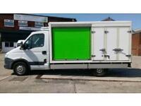 2013 13 IVECO-FORD DAILY 2.3 35S11 1D 106 BHP 10FT 2.3 FRIDGE BOX VAN BODY DIESE