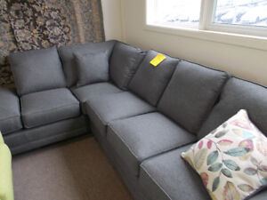 Large selection of New sofas and sectionals in stock.