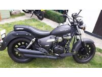 Keeway Superlight 125cc Black Matt