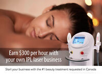 Start your own Beauty Laser Biz at home and earn up to $300/hr