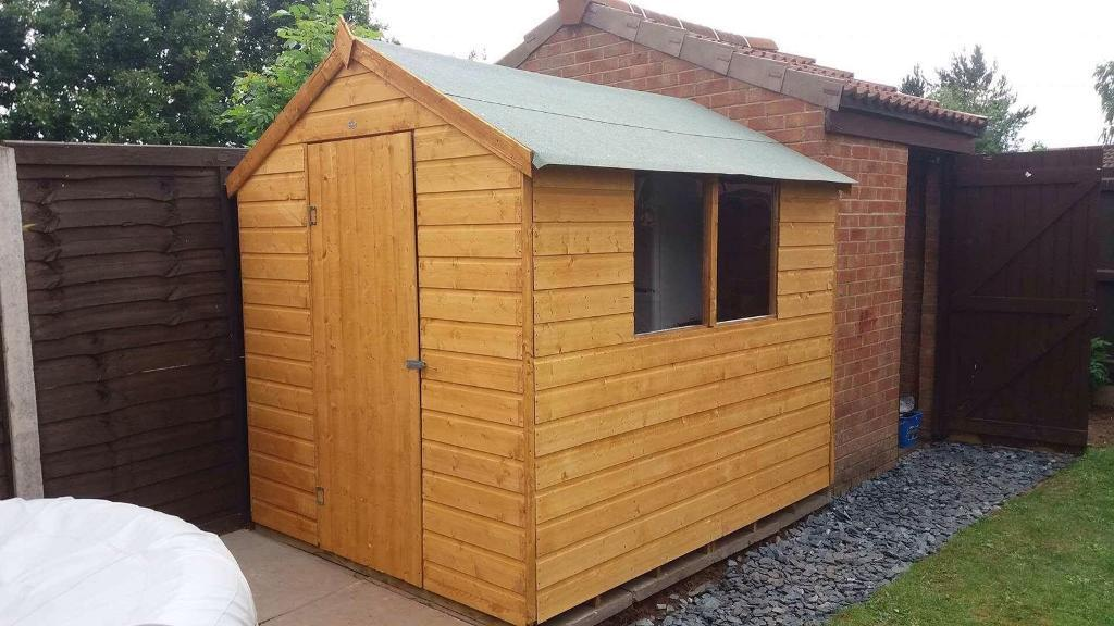 Brand New Garden Sheds In Kidderminster Worcestershire