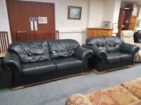 Great condition and excellent quality leather sofas