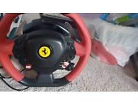 Xbox one Ferrari steering wheel