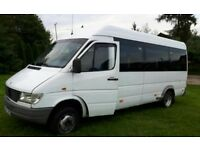 Left hand Drive Mercedes Sprinter or Any other Van or Mini Bus