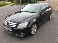 2009 MERCEDES BENZ C200 CDI MOT 2018 FULL SERVICE 3 MONTHS WARRANTY LOW MILES GREAT CONDITION