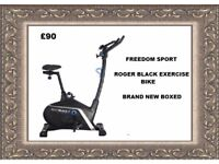 Roger Black Gold Exercise Bike Brand New Boxed