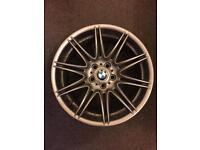 "Genuine MV4 Msport BMW 19"" alloy wheel repaired professionally"