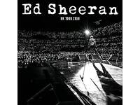 Ed Sheeran 15th June Wembley £400 for 4 seated together tickets