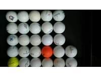 Pinnacle 27 recovered golf balls
