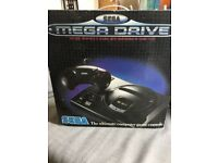 Sega Mega Drive and games