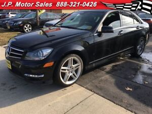 2014 Mercedes-Benz C-Class C350, Navigation, Leather, Sunroof, A