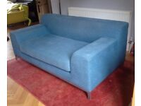 IKEA Kramfors 2-seater sofa, teal blue