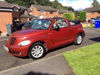 Chrysler PT Crusier Automatic Convertible Red *RARE* low miles