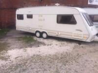5 BERTH TWIN WHEEL FLEETWOOD WITH END BEDROOM AND WE CAN DELIVER