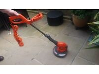 Flymo multi-trim corded strimmer.