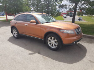 2005 Infiniti FX35 SUV, AWD, loaded, Leather, 170,000 km., clean