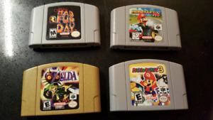 Nintendo 64 - Jeu N64 Game