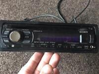 Sony CDX GT50UI stereo