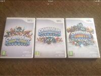 Wii SkyLanders Games x3 £7 EACH
