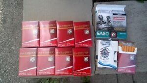 $45 FOR 11 PACKS OF CIGS (BICYCLE ROUTE FINDS)