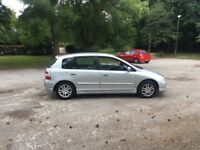 HONDA CIVIC 1.7 CDTI 5 DOOR HATCHBACK 12 MONTHS MOT
