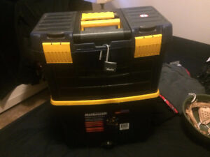 Rolling Toolbox full of assorted tools $125 OBO