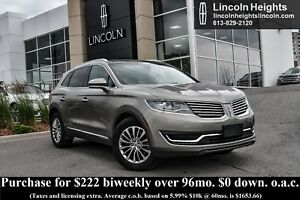 2016 Lincoln MKX SELECT AWD - LEATHER - BLUETOOTH - HEATED SEATS
