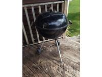 Weber kettle charcoal BBQ