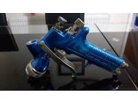Devilbiss gti 1.3 spray gun with 115 air cap complete with 3m no.3 pps adapter