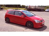 Honda Civic Type R Low Mileage Milano Red ** Jetta Golf Astra Passat Leon A4 Audi TDI
