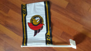 Ottawa Senators car flags 5$