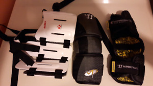 Youth Lacrosse Kidney Protector and Elbow pads