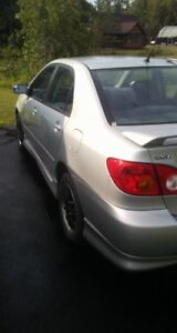 2002 Toyota Corolla S  for sale
