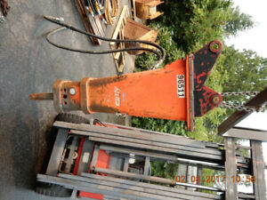 Rammer S25N CITY Hydraulic Breaker - Backhoe Loader - 60-135 EXC
