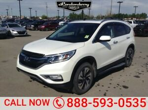 2016 Honda Cr-V AWD TOURING Navigation (GPS),  Leather,  Heated