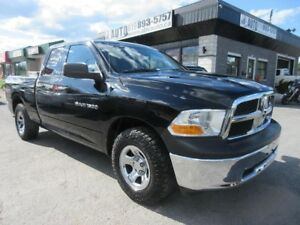 2012 Ram 1500 V8, 4.7L, 4X4 LOW KMS, 4 doors, Tool box