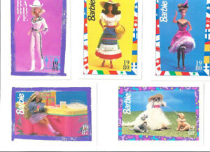 BARBIE CARDS DATED 1991 ~ 25 DIFFERENT TOTAL