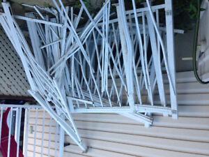 Rampe d'aluminium
