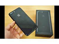 iPhone 7plus 128 gb Jet Black factory unlocked - sell or swap