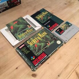 Secret of Mana - Super Nintendo SNES Boxed